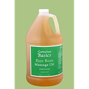 Click to buy Aromatherapy Carrier Oils:Soothing Touch BASICS(TM) Rice Bran Massage Oilfrom Amazon!