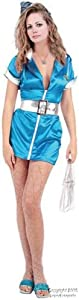 Sexy Airline Flight Attendant Costume (Sz: Medium)