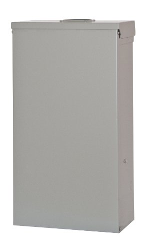 Siemens TL137US Talon Temporary Power Outlet Panel with a 20, 30, and 50-Amp Receptacle Installed, Unmetered