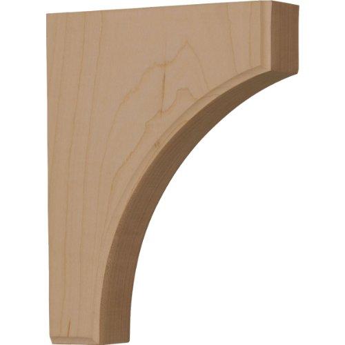 Ekena millwork bktw02x06x08cvrw 1 3 4 inch w by 6 inch d for 3 4 inch granite countertops