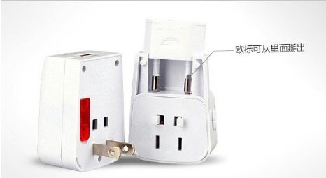 Newdigi? Universal World-Wide Travel Adapter With Usb Port(Built-In Usb)