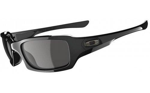 Oakley - Occhiali da sole OO9238-04 Rettangolari, Uomo, Polished Black/Grey (S3)