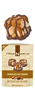 True North Chocolate Nut Crunch 5 0z. (Pack of 3)