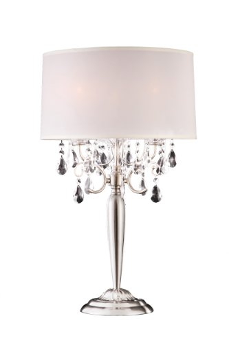 modern contemporary crystal silver table lamp cheap lamps for sale. Black Bedroom Furniture Sets. Home Design Ideas