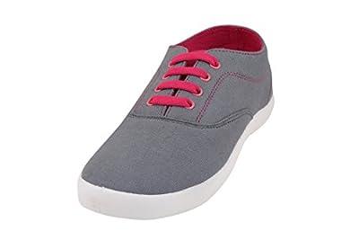 Globalite Women's Casual Shoes Sharp Grey Pink GSC1128 UK/UN