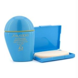 Best Cheap Deal for Shiseido Women's SPF 42 Sun Protection # SP40 Liquid Foundation, 1 Ounce by PerfumeWorldWide, Inc. Drop Ship - Free 2 Day Shipping Available