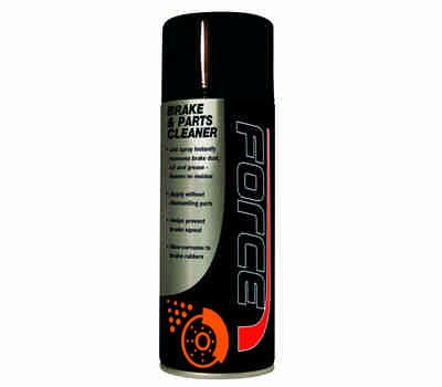 FORCE Brake & Parts Cleaner 2.5 ltr Plasticans Qty 2 - FORCE Chemicals, Oils & Paints
