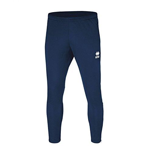Key bestseller pantaloni da uomo (lungo) sottile con gamba (aderente appuntito) e chiusura lampo · Unisex Slim Fit zip pantaloni sportivi () in poliestere per Individual Sport & Team sport di Errea, marineblau, S