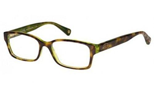 COACH Eyeglasses HC 6040 5117 Tortoise Green 50MM Health ...