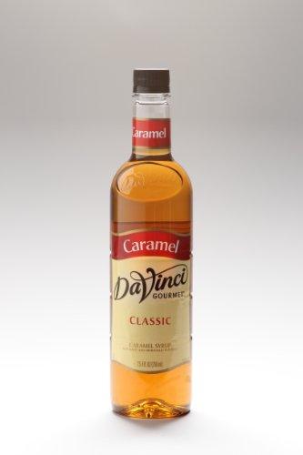 Da Vinci Caramel Syrup, 750 ml Bottle (Plastic).