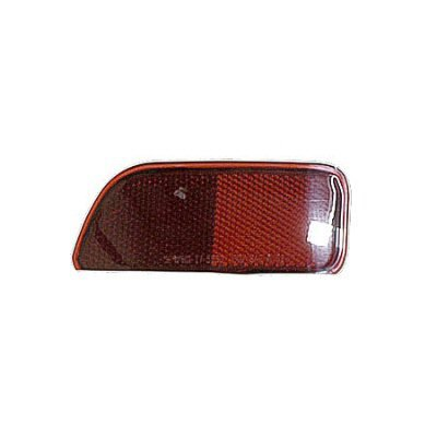 DRIVER SIDE REAR REFLECTOR Chevrolet Trailblazer BUMPER; EXCEPT SS MODELS; LH [FITS IN BUMPER] (Trailblazer Ss Rear Bumper compare prices)