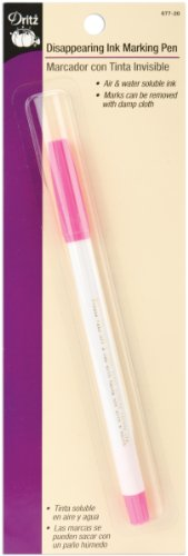 Dritz Disappearing Ink Marking Pen, Pink