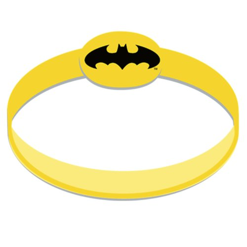 Batman The Dark Knight Wristbands (4 count) from Hallmark