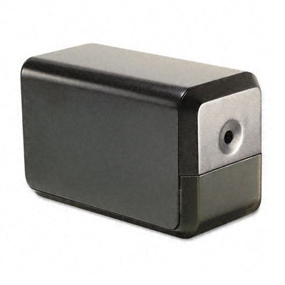X-Acto Products - X-Acto - 1800 Series Desktop Electric Pencil Sharpener, Charcoal Black - Sold As 1 Each - Trim Model Handles Big Workloads. - A High-Quality Sharpening Each Time. - Pencil Saver Saves Time And Pencils By Avoiding Over Sharpening. - Rubbe