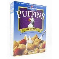 Barbara'S Bakery Honey Rice Puffins (12x10 OZ)