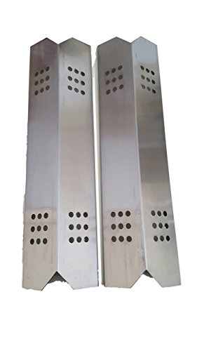 Set of Two Stainless Steel Heat Plates for Gas Grill Model Kitchen Aid 720-0819 (Kitchen Aid Gas Grills compare prices)
