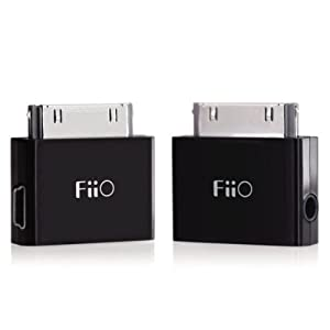 FiiO L11 Line Out Dock (LOD) Connector with USB Charge/Data Port For iPod, iPhone, iPad