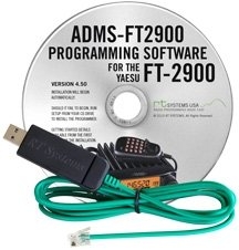 Yaesu FT-2900R Programming Software & USB Cable Set! ADMS-2900