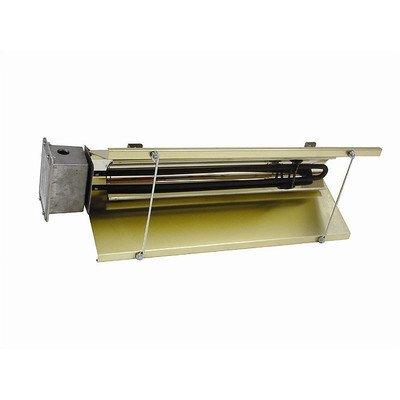Heavy Duty Metal Sheath 6,826 Btu Infrared Ceiling Mount Electric Space Heater Power: 600V