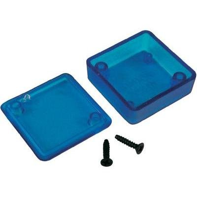 """Hammond 1551Ptbu Translucent Blue Abs Plastic Project Box -- Inches (1.58"""" X 1.58"""" X 0.79"""") Mm (40Mm X 40Mm X 20Mm)"""