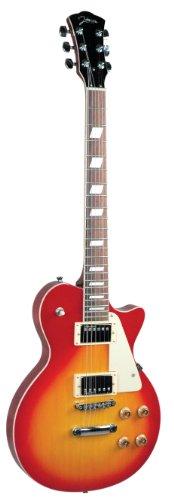 Johnson Js-910-C Solara Classic Electric Guitar, Cherryburst