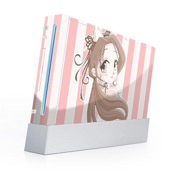 Lolita de Chocolate Design Nintendo Wii Body Protector Skin Decal Sticker
