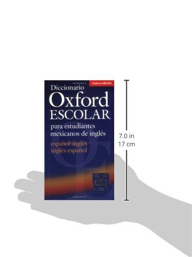 Diccionario Oxford Escolar para estudiantes mexicanos de inglés (español-inglés / inglés-español)