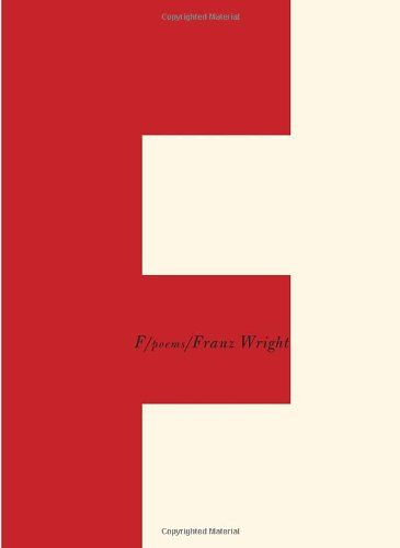 F: Poems (Borzoi Books)