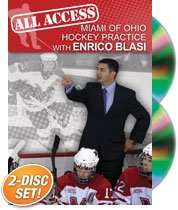 Enrico Blasi: All Access Miami of Ohio Hockey Practice (DVD) by Championship Productions