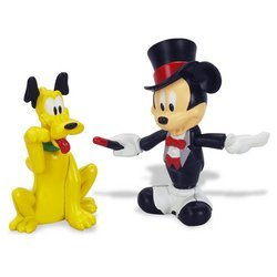 Buy Mickey Mouse Clubhouse: Magician Mickey and Pluto Animated Figurine 2-Pack