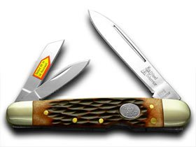 Steel Warrior Lockback Whittler Pocket Knife Knives