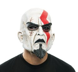 Kratos God Of War Halloween Mask