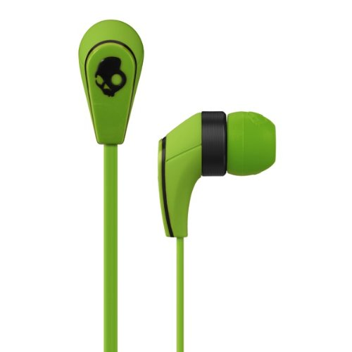 Click to buy Skullcandy 50/50 Earbud Headphones - GREEN APPLE - From only $1659