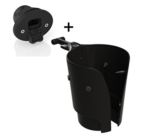 Tallon Removable Boat Drink / Cup Holder (Black), With Tallon Classic Socket Mount (Black) (Liquid Caddy Beverage Holder compare prices)