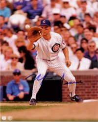 Signed Grace, Mark (Chicago Cubs) 8x10 Photo autographed