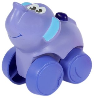 Imagen principal de Hasbro Playskool Wheel pals Animalitos blanditos Elefante - Animal de juguete con ruedas