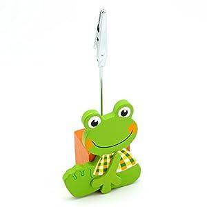 Detalles Infantiles - Pinza para tarjetas rana - BebeHogar.com