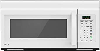 LG LMV1683SW 1.6 Cu. Ft. Smooth White Over-the-Range Microwave