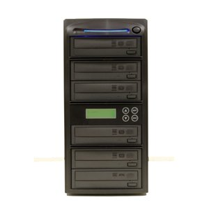 Produplicator 1-6 LightScribe Burner 20X DVD CD Duplicator w/500GB+USB 2.0