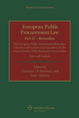 european-public-procurement-law-part-ii-remedies-the-european-public-procurement-remedies-directives