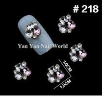 10pcs New Alloy Luxury Diamond Nail Rhinestone Colorful Charm 3D Nail Art Decorations