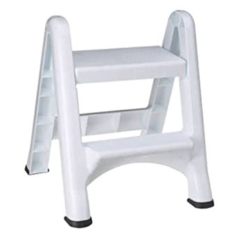 Rubbermaid Commercial 4209 Ez Step Folding Stool 2 Step