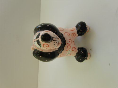 "7""h Hand Painted Dog Bank"