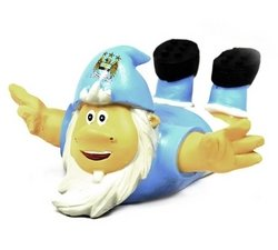 Manchester City F.C. Garden BELLY SLIDE Gnome