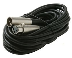 Microphone Cable 60' Xlr M/F