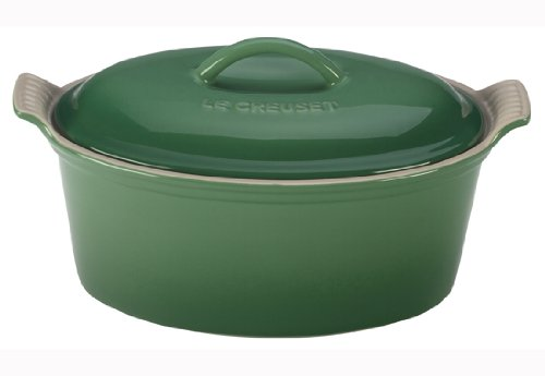 Le Creuset Heritage Stoneware 1 1/5qt Covered Oval Terrine, Fennel