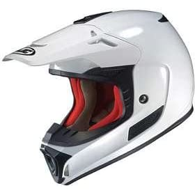 HJC SPX WHITE MOTORCYCLE Off-Road-Helmet