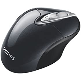 31PTWyFOhuL. SL500 AA280  Philips SPM5713BB Mouse With USB Wireless Receiver   $18 Shipped