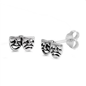 sterling-silver-theater-masks-stud-earrings-comedy-tragedy-ancient-style