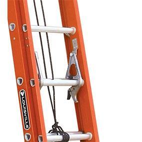 Louisville Ladder Fiberglass Extension Ladder 300 Pound